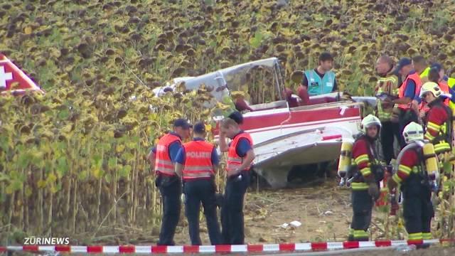 Flugzeug-Crash in Schaffhausen