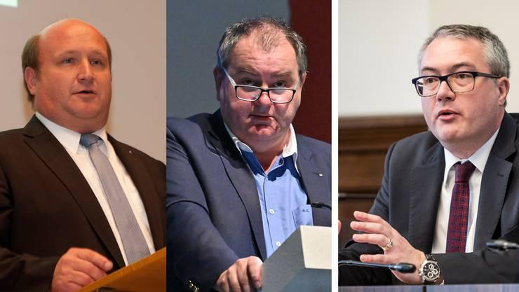 Peter Hodel und Roger Siegenthaler werden als Kandidaten neben Regierungsrat Remo Ankli gehandelt.