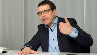 Matthias Jauslin, Präsident FDP Aargau: «Bei Ständeratspodien können wir die Persönlichkeit Philipp Müller natürlich nicht ersetzen.»