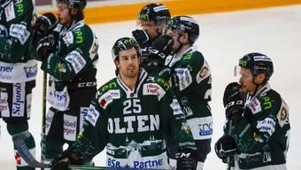 Eishockey, Swiss League: EHC Olten - SC Langenthal (9.1.21)