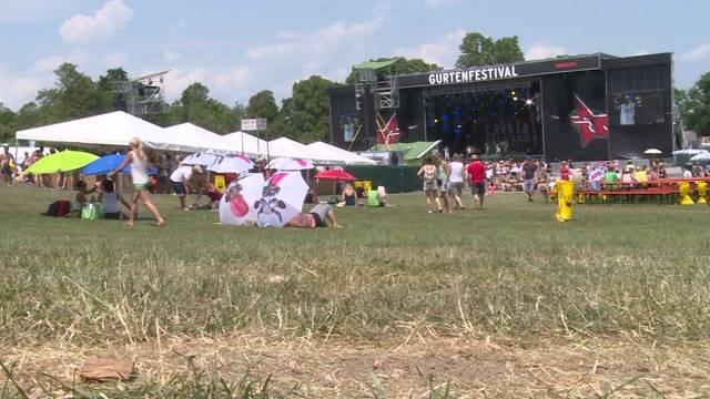 So trotzen die Festivalbesucher der Hitze