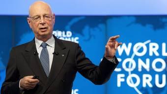 Klaus Schwab, WEF-Gründer (Archiv)