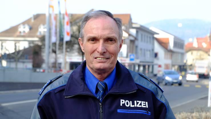 «Die Polizei wird heute häufiger gerufen.» Dieter Holliger (59) ist seit 2005 Chef der Regionalpolizei aargauSüd.