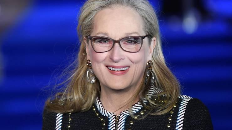Meryl Streep freut sich über ihren ersten Enkel: Ihre Tochter Mamie Gummer hat einen Sohn zur Welt gebracht. (Archivbild)
