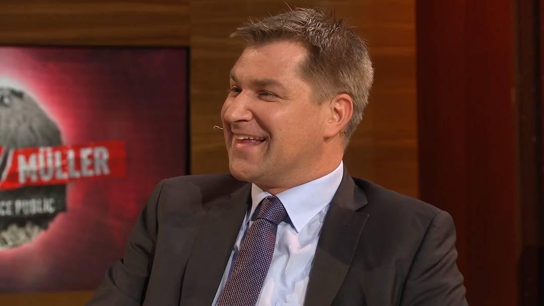 Toni Brunner bei Giacobbo/Müller über Kühe, Ausländer und geklaute Äpfel.