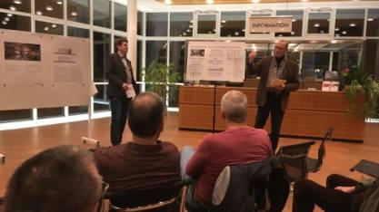 Präsentation des Projekts im Stadthaus