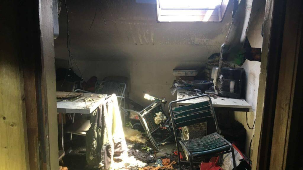 Die Explosion einer Lithium-Batterie hat am Freitag in Mur einen Brand verursacht.