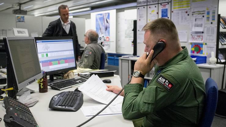 Die Operationszentrale der Schweizer Luftwaffe in Wangen-Brüttisellen.Flurin Bertschinger/Ex-Press