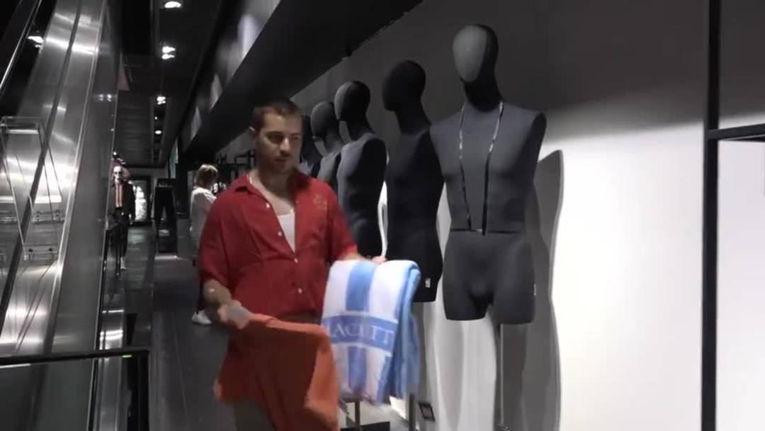 Warenhaus vor Wiedereröffnung: Im Globus laufen die Vorbereitungen auf Hochtouren