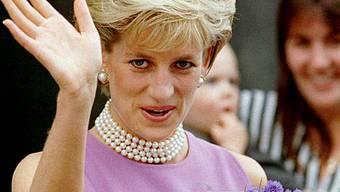 Prinzessin Diana bei einem Besuch in Australien (Archiv)