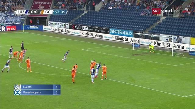 FC Luzern/GC — YB/FCLugano — FC Zürich