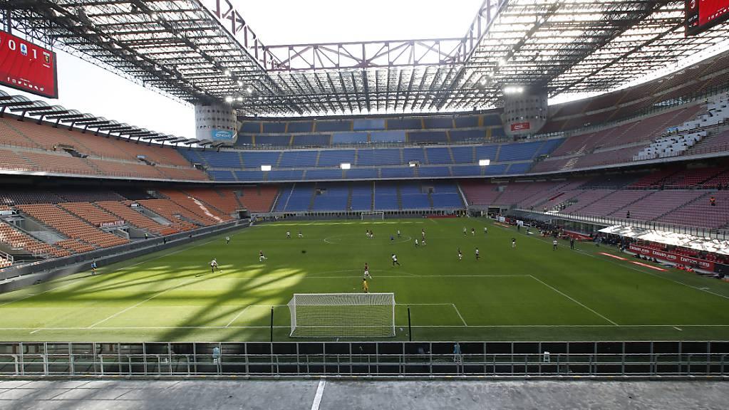 In Italiens Stadien wird bald wieder Fussball gespielt