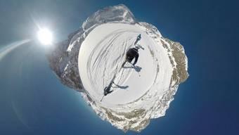 Im Zuge des #project360 nimmt sie Mammut mit auf die Patrouilles des Glaciers zwischen Zermatt und Verbier.