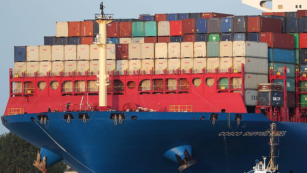 Die Schweizer Exportwirtschaft hat im September wieder zugelegt, nachdem die Ausfuhren in den beiden Vormonaten rückläufig gewesen waren. (Symbolbild)