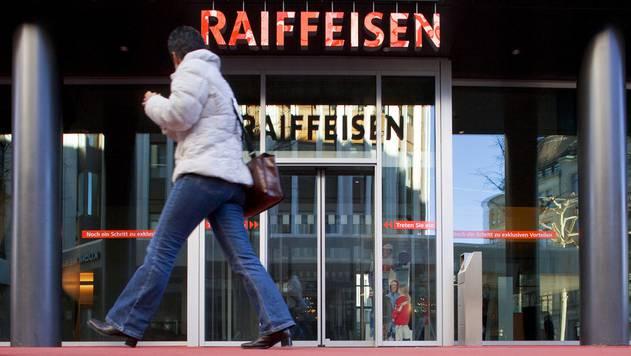 Im Hauptquartier der Raiffeisen in St. Gallen herrscht grosser Unmut. (Archiv)