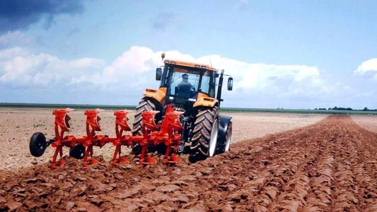 Pflug von Bucher Industries: Der Maschinenbauer hat im letzten Jahr weniger solche Landmaschinen verkaufen können.