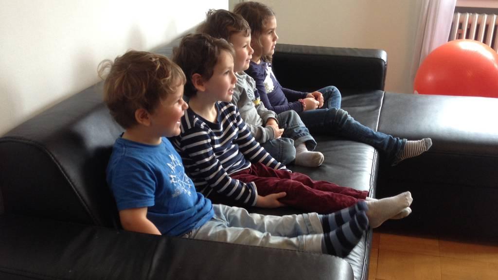 Wie viel TV oder Internet ist gut für die Kinder?