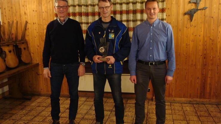 von links Michel Christen, Rolf Steinmann, Markus Meier