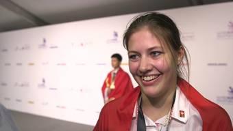 Das sagt Jungbäckerin Ramona Bolliger aus Gontenschwil zu ihrer Gold-Medaille in Abu Dhabi.