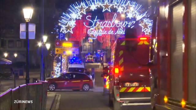 Zwei Tote nach Anschlag auf Strassburger Weihnachtsmarkt