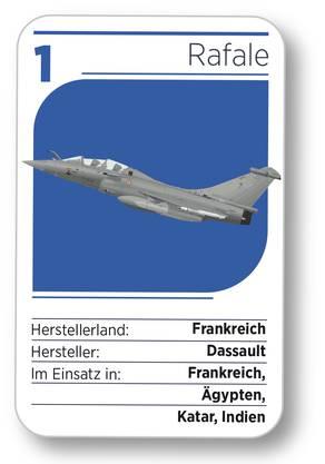 Kampfjet Nr. 1: Der Rafale aus Frankreich