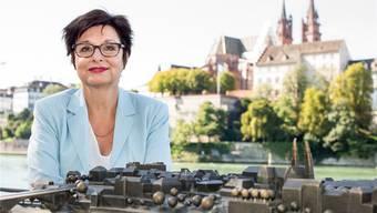Neben Anita Fetz sehen die Basler Bürgerlichen ganz klein aus. In einem Rundumschlag kritisiert sie alle: Frehner, Stolz, Lehmann, Eymann, Wüest-Rudin und Eicke.