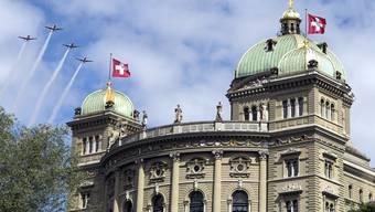 Bern wird sich mit zwei Aargauer Asyl-Anliegen beschäftigen müssen. (Archiv)