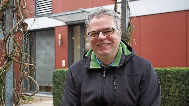 «Es geht auch darum, dass das Gesundheitssystem nicht kollabiert»: Andre Rotzetter, Geschäftsführer des VAOF. Ist bald leer: Das Ueker Gemeindehaus.