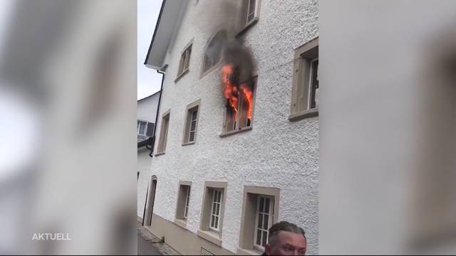 Grossbrand in Bad Zurzacher Traditions-Gasthaus «zum Schlüssel»