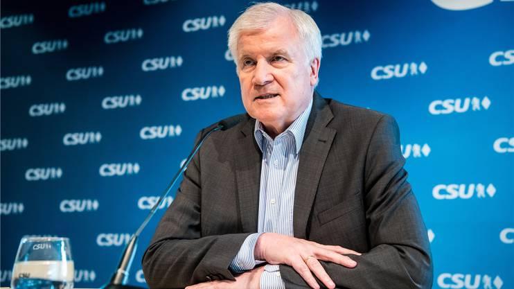 Zieht die Schraube an: Innenminister Horst Seehofer (CSU).