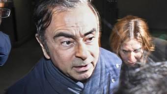 Hat keine Funktion mehr bei Nissan: der frühere Chef und Verwaltungsrat Carlos Ghosn. (Archivbild)
