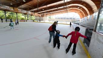 Die überdachte Kunsti Sissach kann zur Eishalle umgebaut werden.