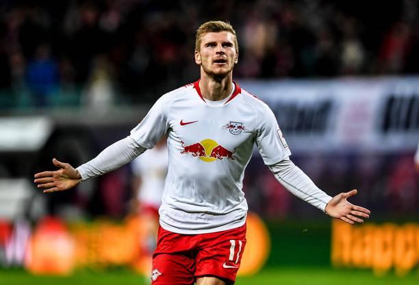 Fehlt RB Leipzig und Chelsea: Der deutsche Topstürmer Timo Werner.