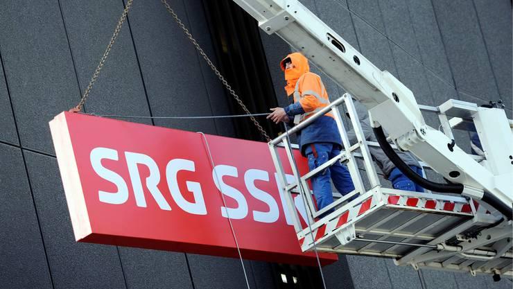 Beim SRG sollen 250 Stellen abgebaut werden.