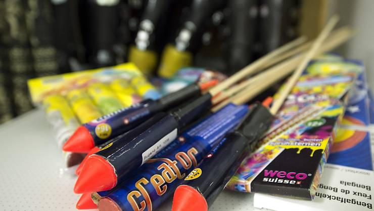 Bei der Migros Aare kann kein Feuerwerk mehr gekauft werden. (Archiv)