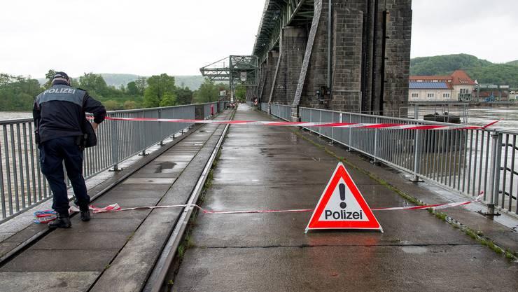 Die deutsche Polizei ist für den Fall zuständig.
