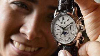 Sorgt bei Käufern und Produzenten für Freude: Luxusuhr der Marke Patek Philippe (Archiv)