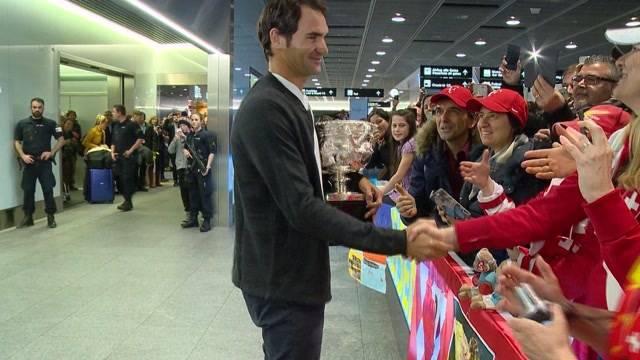 Tennis-König zurück in der Schweiz