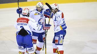 Die Lions gewinnen in Genf und gleichen in der Serie aus