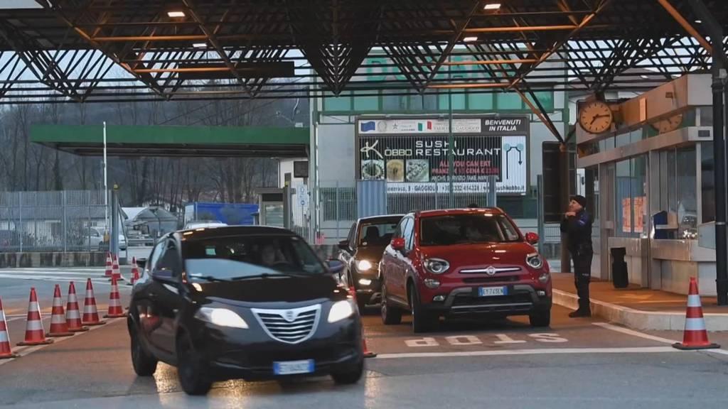 Coronakrise in Italien: Grenzgänger kommen weiterhin in die Schweiz