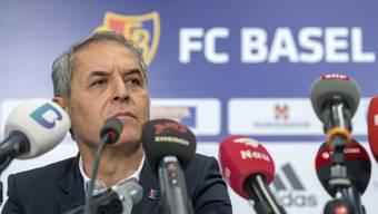 Cheftrainer Marcel Koller an einer Medienkonferenz des FC Basel 1893 in Basel, am Dienstag, 18. Juni 2019. (KEYSTONE/Georgios Kefalas)