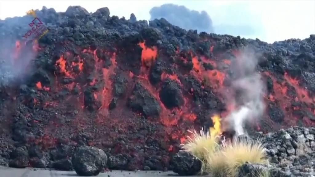 Neuer Lavastrom auf La Palma richtet weitere Schäden an