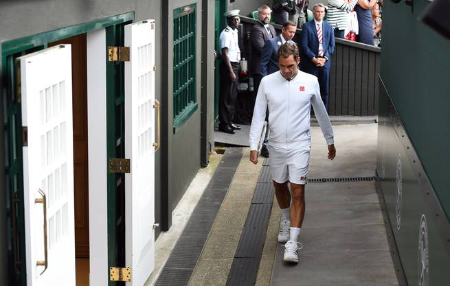 2019 verlor Federer den Wimbledon-Final. Dem Ziel, dort noch einmal um den Titel spielen zu können, wird er wohl alles andere unterordnen.