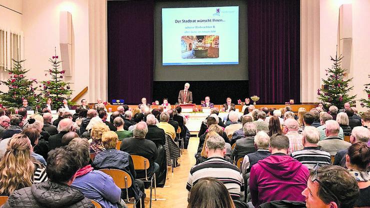 An der Einwohnergemeinde in Bremgarten wurde im Casino über das Casino diskutiert.