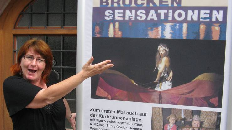 «Hereinspaziert» zu den Brückensensationen ist ein klares Signal von Kulturmanagerin Brigitte Brügger. ach