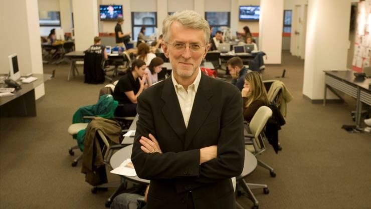 US-Journalist Jarvis Jeff: «Es ist unvorstellbar, dass die Briten der BBC die Gebühren streichen.»