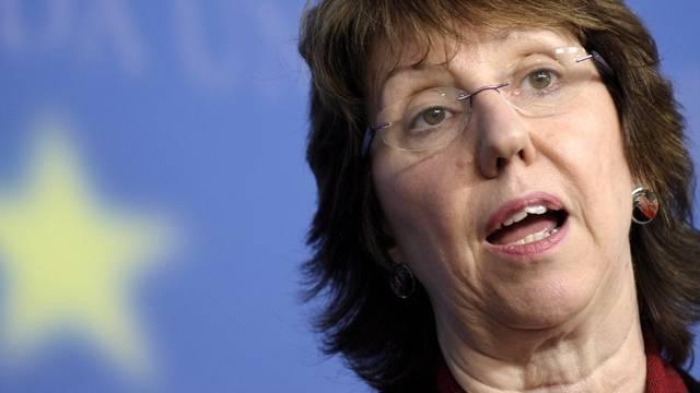 Catherine Ashton rügt Israel für seinen Siedlungsbeschluss (Archiv)