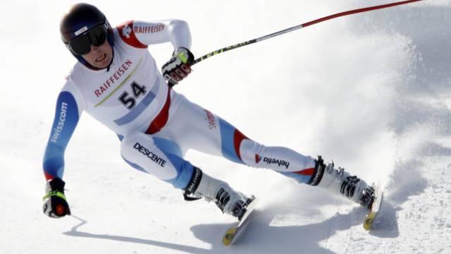 Sieg in der Europacup-Abfahrt bei Innsbruck für Vitus Lüönd
