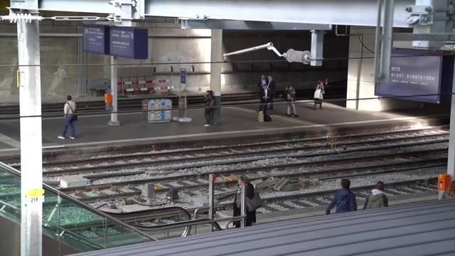 Bahnhof Bern steht wegen technischer Störung still