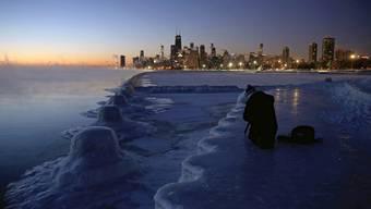 Eisige Kälte in Chicago am 31. Januar 2019 – Oimjakon in Russland ist mit minus 50 Grad im Winter jedoch der kälteste bewohnte Ort der Erde